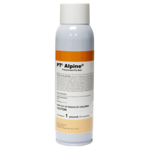 Focused Xtermination offers PT Alpine, a pressurized fly bait made by BASF, to our customers. For more information or to place an order please call the office at 913-599-5990.